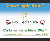 Drowning In Debt? Pro Credit Care - tagged with it