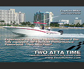 Captain Mike Powerboat Charter  - Family and Kids Graphic Designs