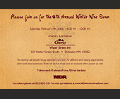 Please Join Us for the 6th Annual Winter Wine Down - Events