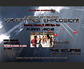 Valentine's Day Explosion at The Eclipse - Washington Graphic Designs