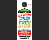 Premier Siding and Roofing  - 3300x1275 graphic design