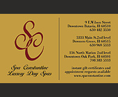 Spa Constantine - Spa Constantine Graphic Designs