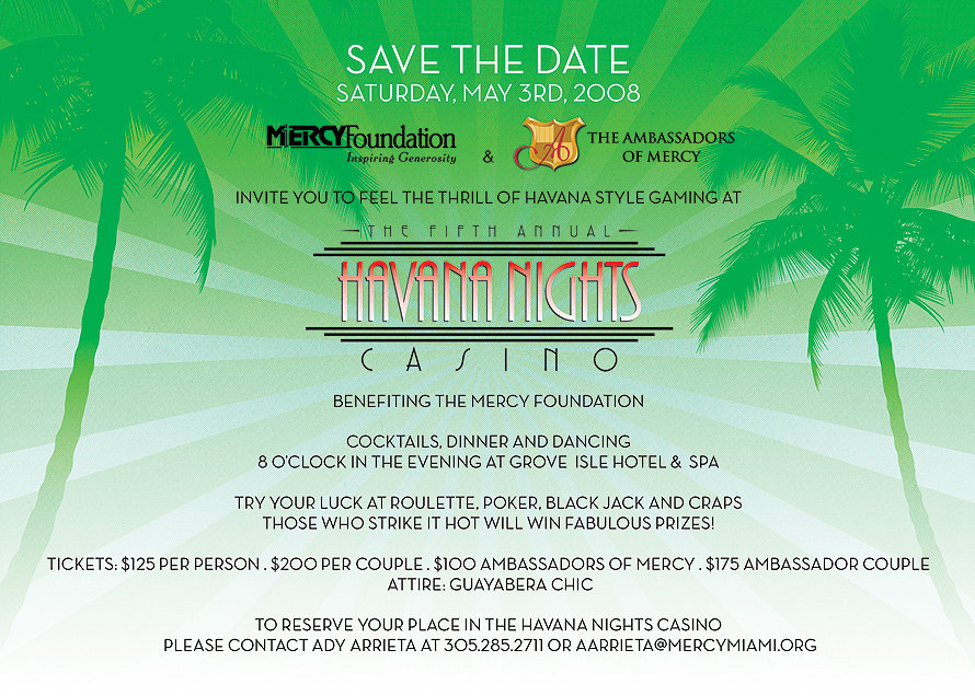 The Fifth Annual Havana Nights Casino
