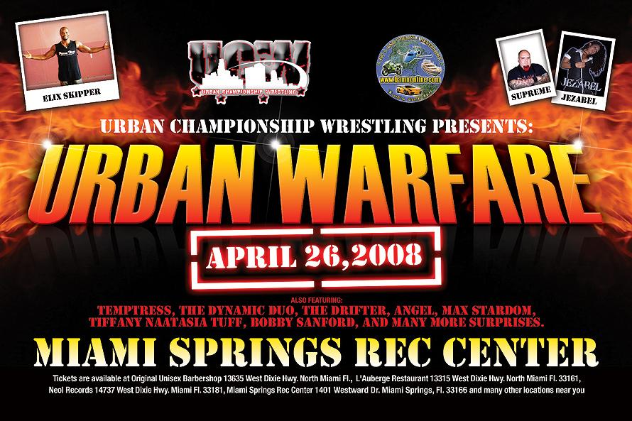 Urban Championship Wrestling Presents Urban Warfare