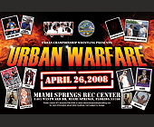 Urban Championship Wrestling Presents Urban Warfare - tagged with sweet