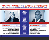 Marvin Taker and Larry Brockett - Maryland Graphic Designs