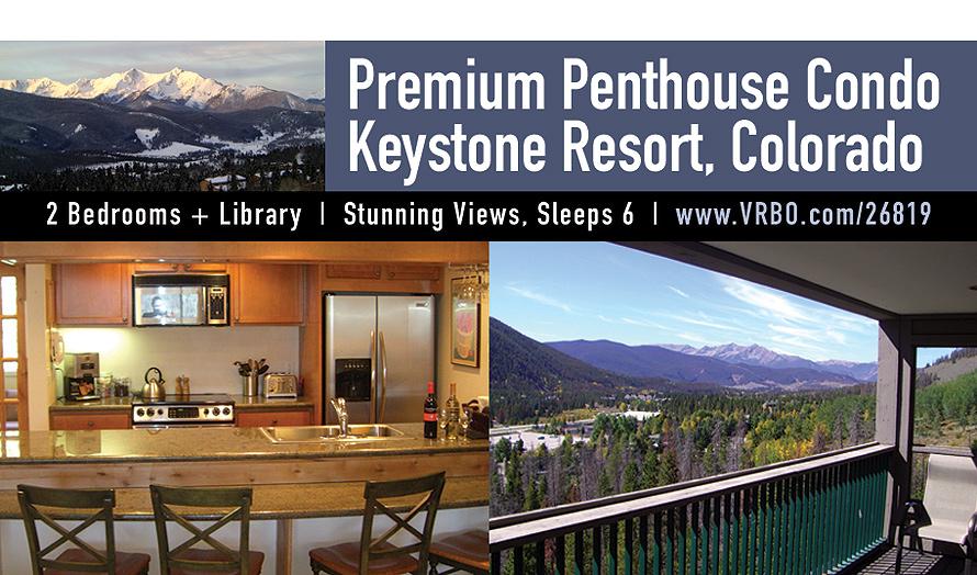 Premium Penthouse Condo Keystone Resort