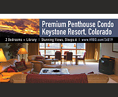 Premium Penthouse Condo Keystone Resort - tagged with chairs