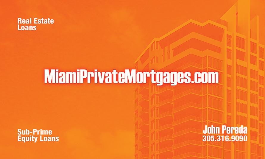 Miami Private Mortgages