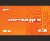 Miami Private Mortgages - tagged with orange