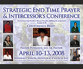 Strategic End Time Prayer & Intercessor's Conference - tagged with 30