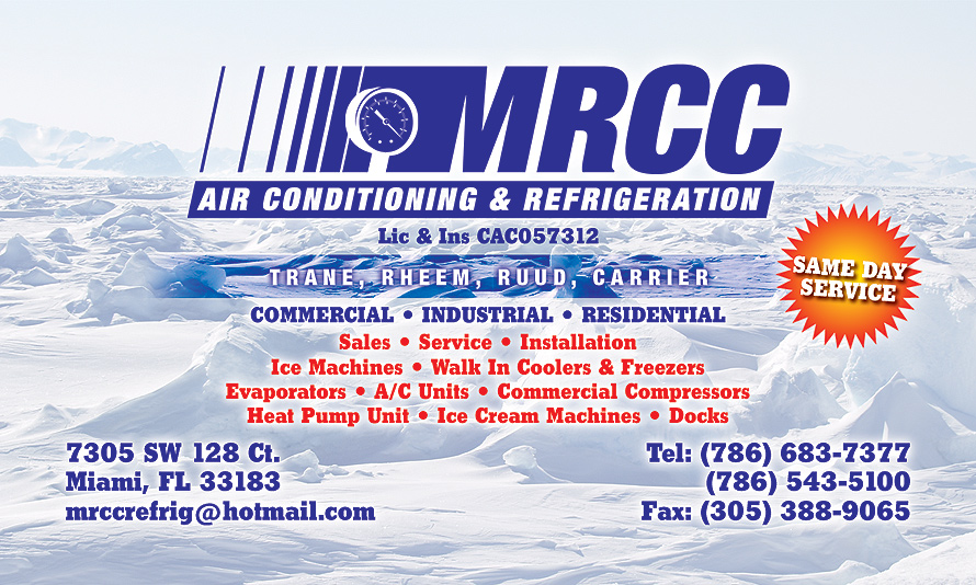 MRCC Air Conditioning and Refrideration