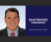 Alan Grayson for Congress - tagged with head shot
