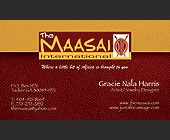 The Maasai International - Artists Graphic Designs