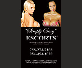 Simply Sexy Escorts - tagged with 2.25 x 3.75