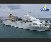 Costa Europa - tagged with dock