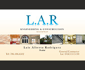 L.A.R. Engineering & Construction - tagged with president