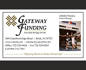 Gateway Funding Diversified Mortgage Service - tagged with cell