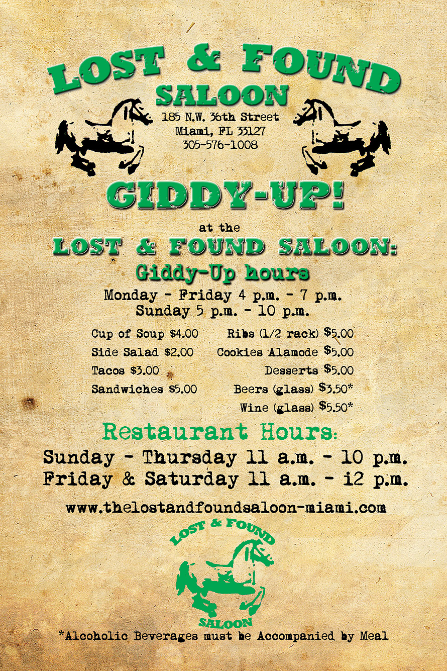 Lost and Found Saloon