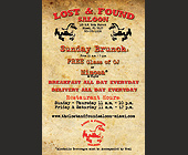 Lost and Found Saloon - tagged with found saloon