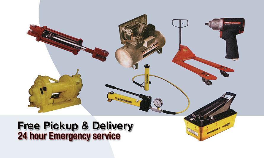 Hydraulics Servicing, Repairs, and Rebuilding