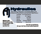 Hydraulics Servicing, Repairs, and Rebuilding - Houston Graphic Designs