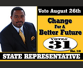 Tony E. Crapp Jr. Change For a Better Future - 2700x1800 graphic design