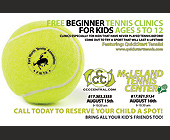 Free Beginner Tennis Clinics - tagged with drinks