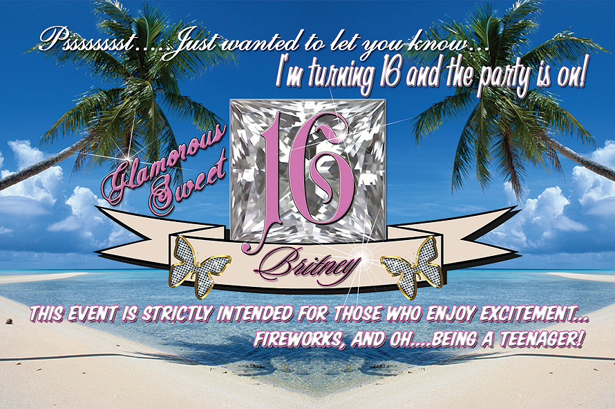 Glamorous Sweet 16 Britney