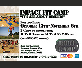 Impact Fit Camp - tagged with 30