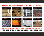 Total Contracting and Roofing Company  - tagged with 75