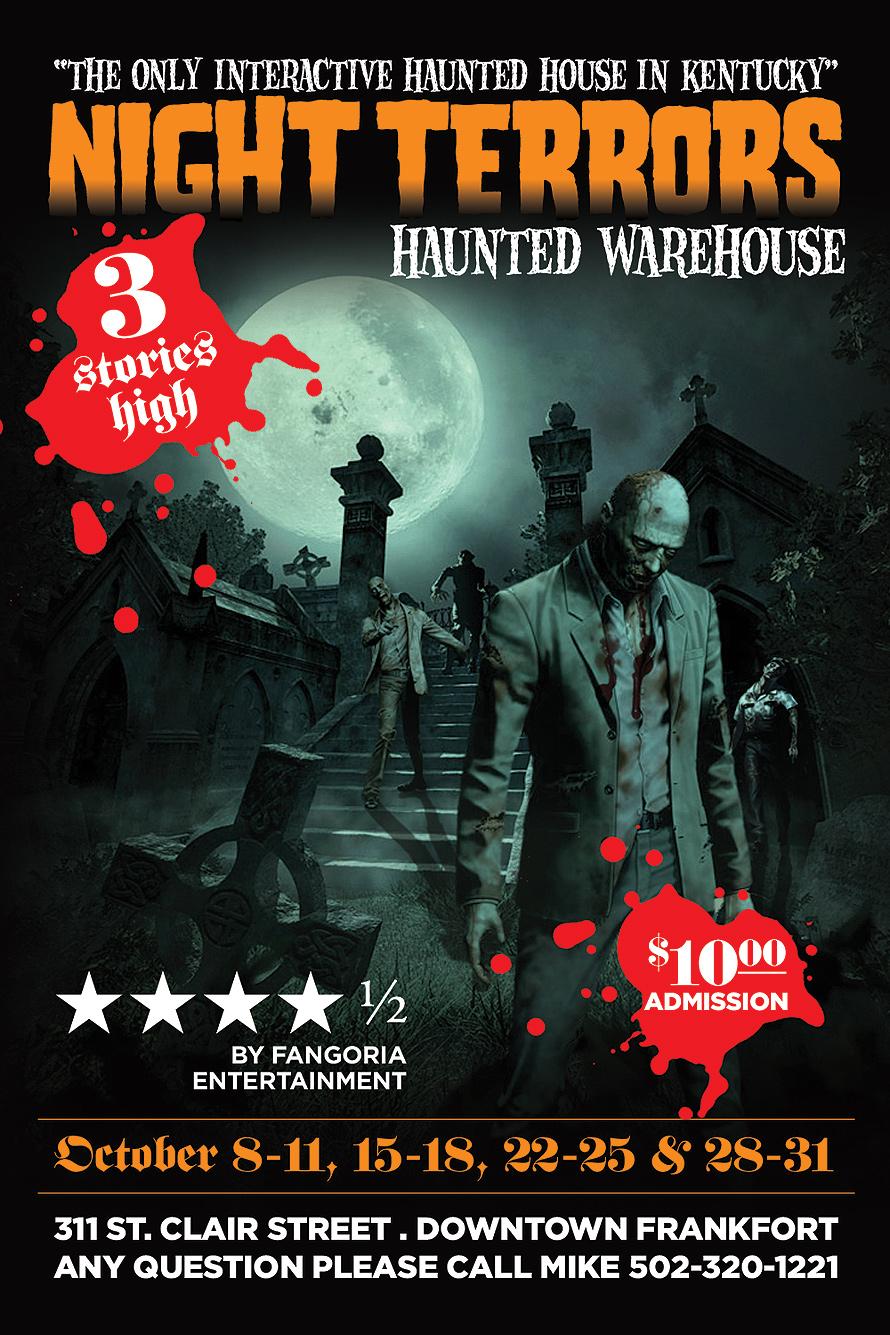Night Terrors Haunted Warehouse