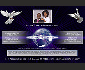 Pastor Tommy & Lady Mutobaya Bible Study Thursday - Dallas Graphic Designs