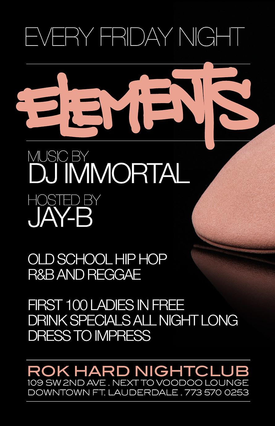 Every Friday Night Rok Hard Nightclub