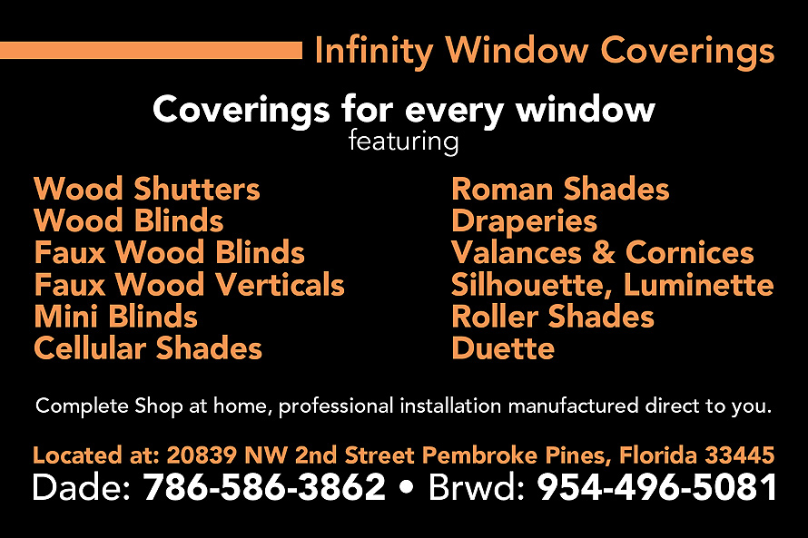 Infinity Window Coverings
