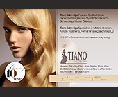 Tiano Salon Spa  - Beauty Graphic Designs