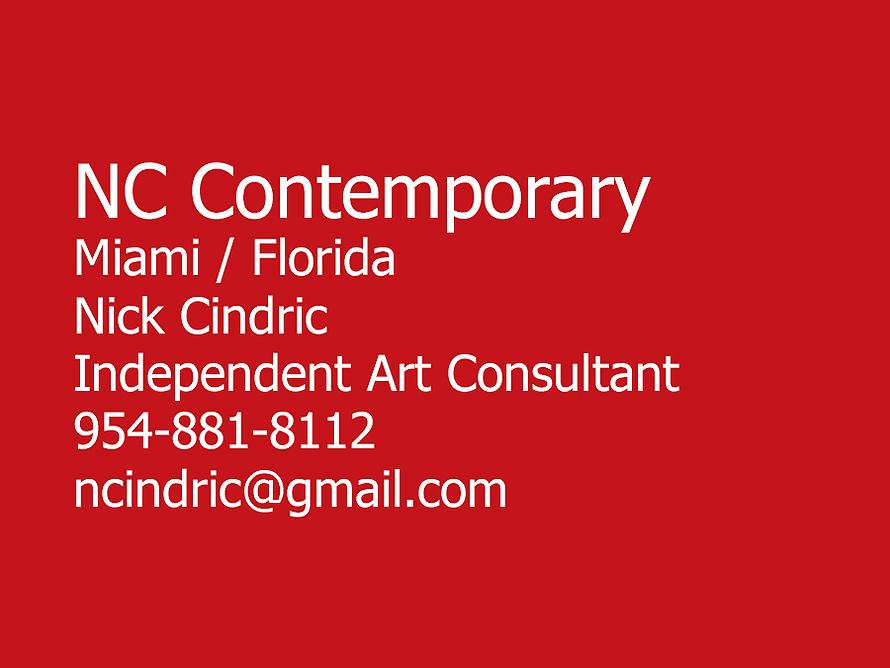 NC Contemporary Nick Cindric