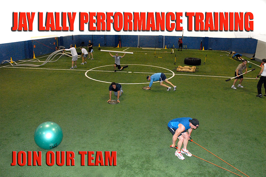 Jay Lally Performance Training Join Our Team