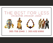 The Best for Less African Attire  - 938x563 graphic design