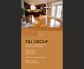 P and L Group Quality Hardwood Floor Installers - 938x563 graphic design