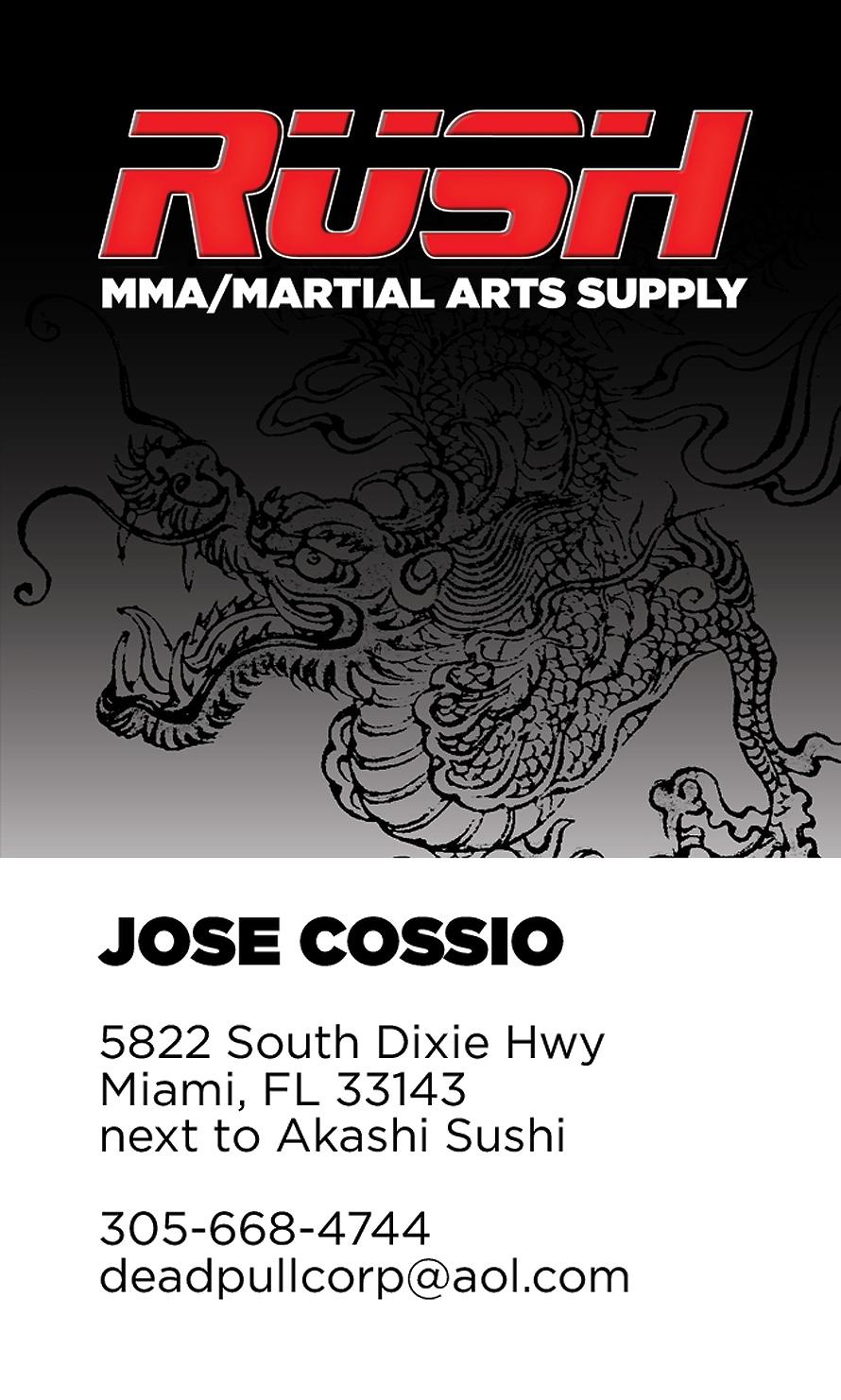 Rush MMA Supply
