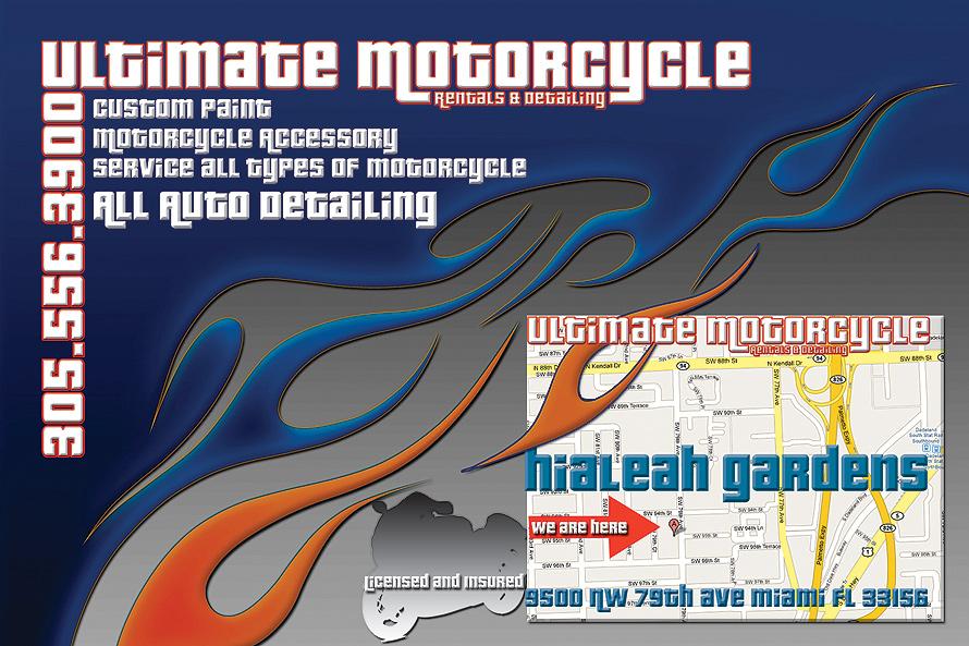 Ultimate Motorcycle Rentals & Detailing