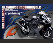 Ultimate Motorcycle Rentals & Detailing - tagged with flames