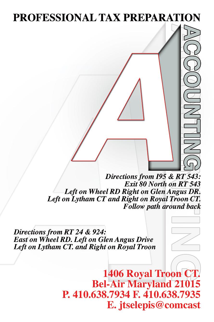 Accounting Professional Tax Preparation