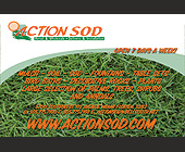 Action Sod - Agriculture and Farming Graphic Designs