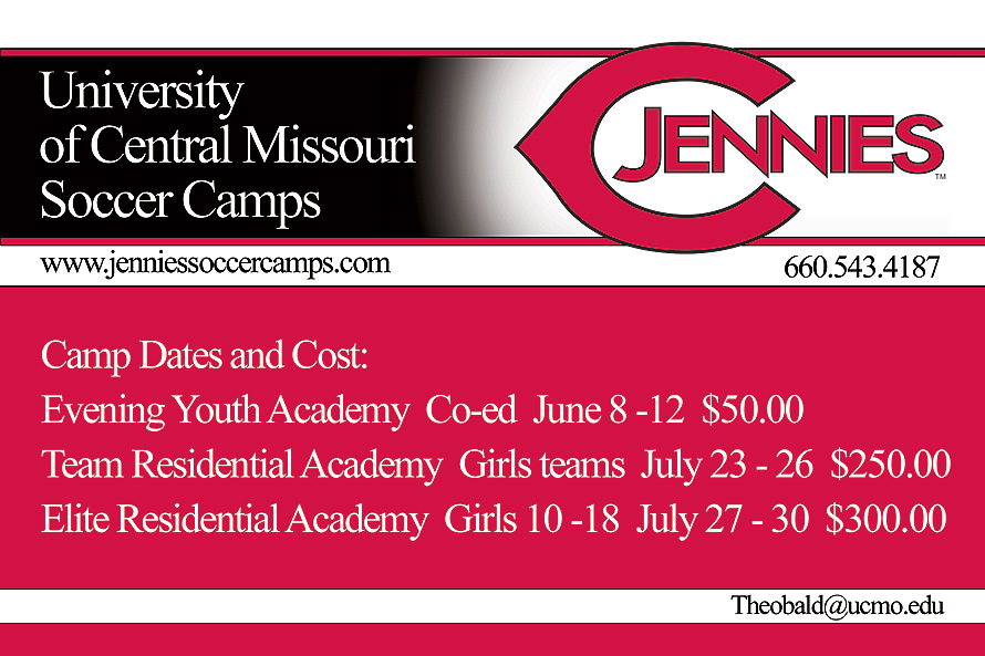 University of Central Missouri Soccer Camps
