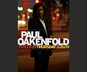 Paul Oakenfold at Mokai - tagged with table reservations