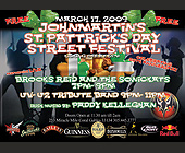 John Martin's St. Pattrick's Day Street Festival - tagged with liquor