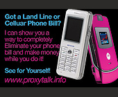 Got a Land Line or Celluar Phone Bill? - Techies Graphic Designs