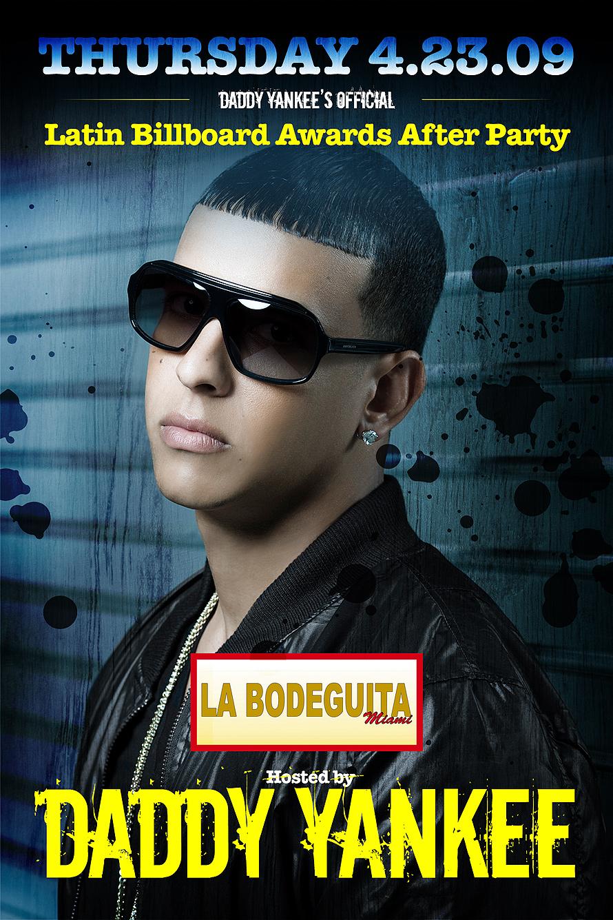 Daddy Yankee at La Bodeguita